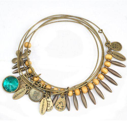 75 best diy chandelier earrings more images on pinterest retro four leaf clover water drop charm bead stack bangle bracelet mozeypictures Images