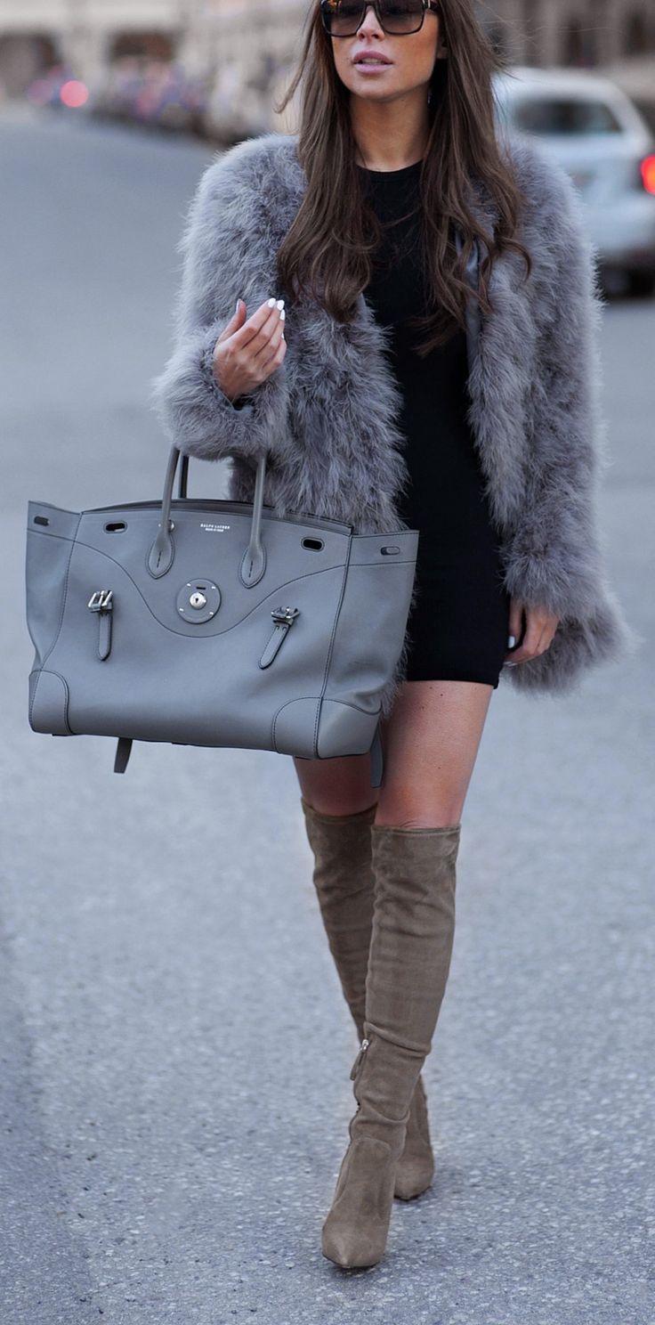 Grey fur.