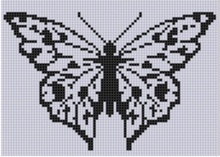 Looking for your next project? You're going to love Butterfly 6 Cross Stitch Pattern by designer Motherbeedesigns. - via @Craftsy