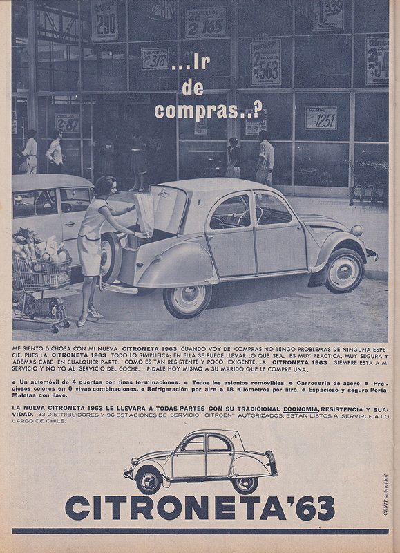 CITROËN Citroneta 1963 Publicidad