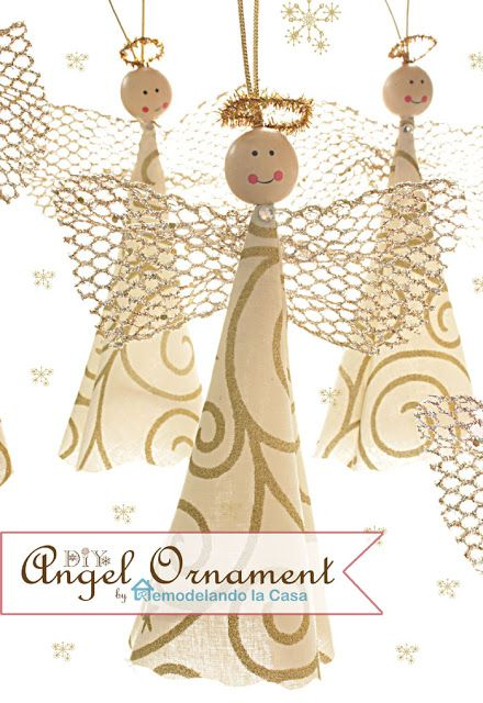 Remodelando la Casa: DIY Angel Ornament