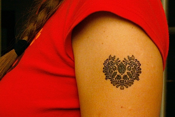 Tattoo with hungarian flowers...