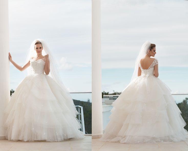 kabarık gelinlik modelleri 2016-kabarık prenses gelinlikler-nova bella gelinlik nişantaşı istanbul