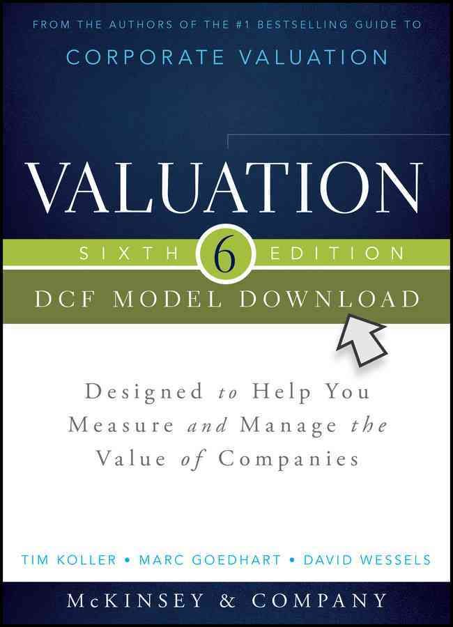 valuation dcf model download designed to help you measure and manage the value of companies