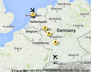 The Best Rhine River Cruise Ideas On Pinterest Castle In - Netherlands rivers map
