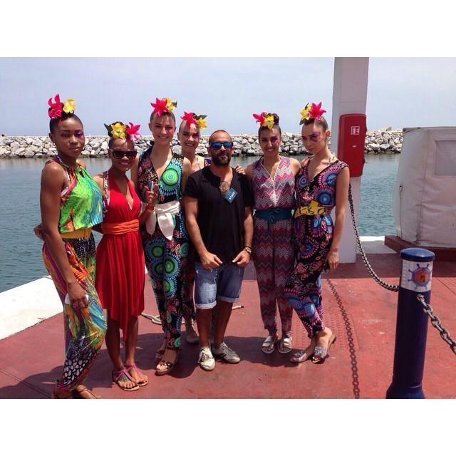 En la #MLW15 colaboramos en el desfile de la diseñadora Yamaia. #maquillaje #estilismo #co… http://ift.tt/1KmkWJo