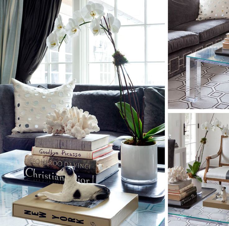 Norr11 Coffee Table Tray: Foyer Tables, White Orchids And Trays On Pinterest