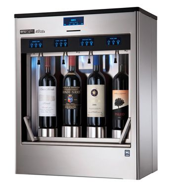 Enomatic - Wine Dispenser - how awesome would this be in your home!?