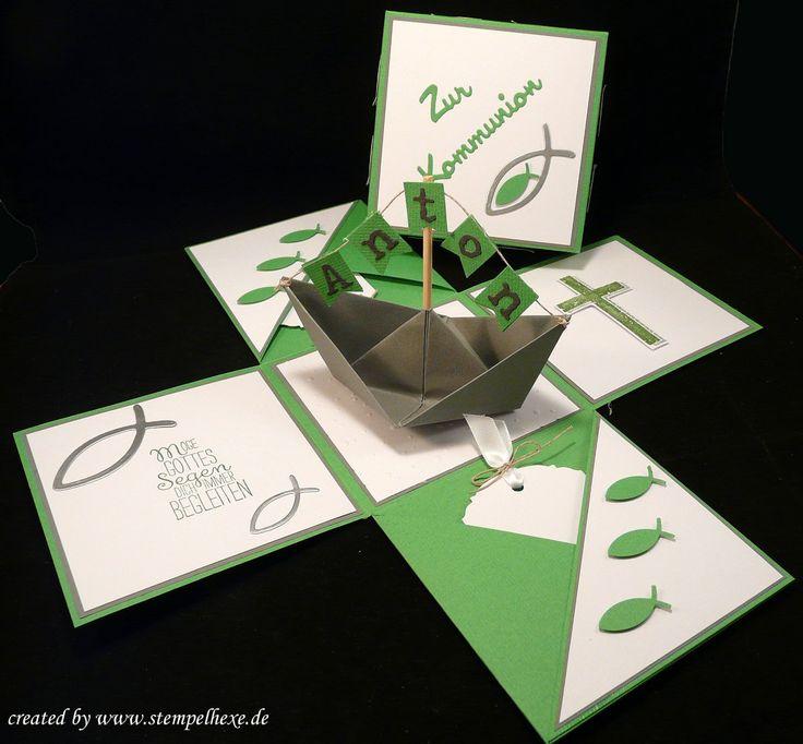 Box kommunion stampin stempelhexe