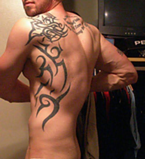 back of neck tatoos | back tattoos for men tribal 20 tattoo ideas