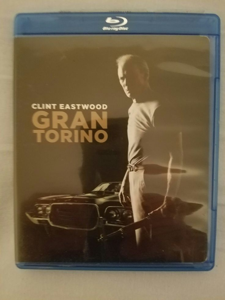 GRAND TORINO BLU RAY (CLINT EASTWOOD) LIKE NEW CONDITION