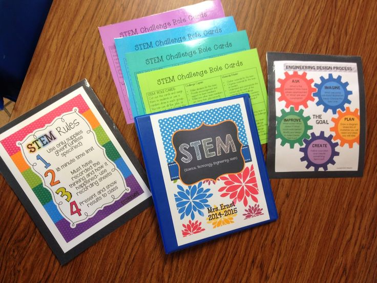 Getting Started With STEM- TONS of great ideas linked with freebies!