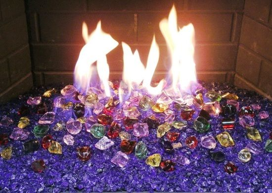 glass fireplace rocks - Google Search - 12 Best Images About Fireplace On Pinterest Ceramics, Gas