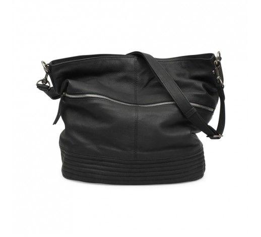 Erin Bag in black leather // Markberg