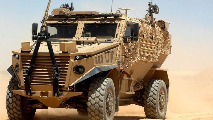 Foxhound MoD vehicles 'keep breaking down' - BBC News