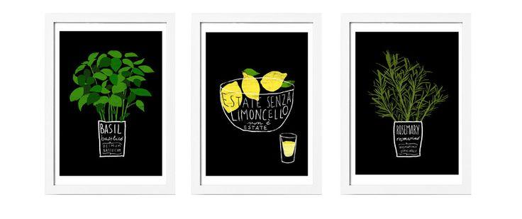 IKEA Mediterranean Garden posters — Ana Zaja Petrak