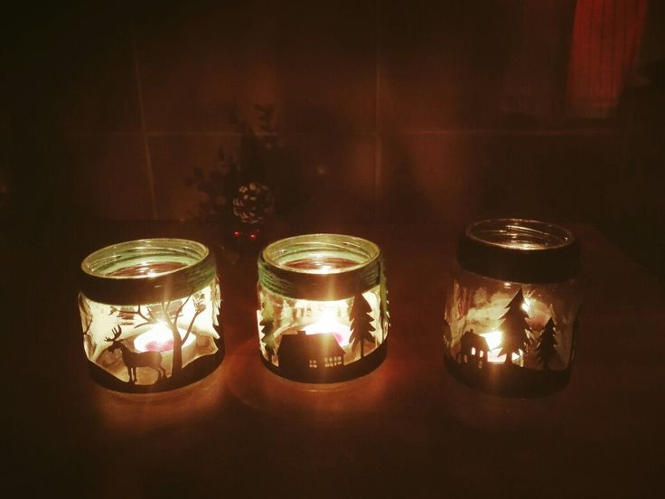 DIY candle light