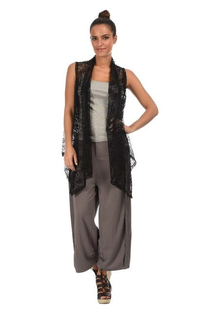 Bella Blue - Sleeveless Vest Gaya Black spotted at Ozsale. Price was $109 and is now $35.