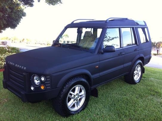 Murdered out 2002 Land Rover Discovery aka girlfriend's future ride