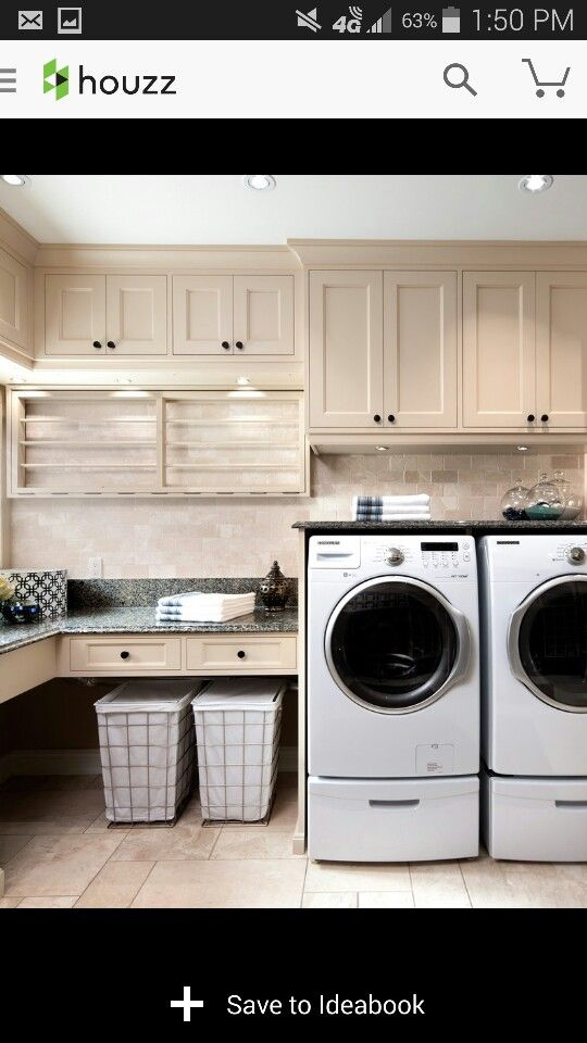 This will be my neat organized laundry room