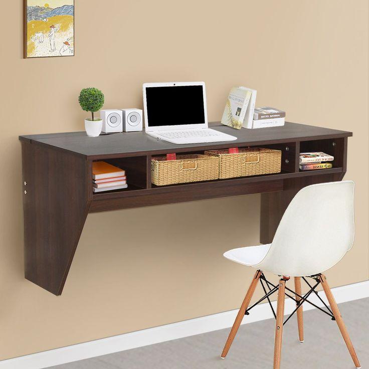 best 20 wall mounted computer desk ideas on pinterest. Black Bedroom Furniture Sets. Home Design Ideas
