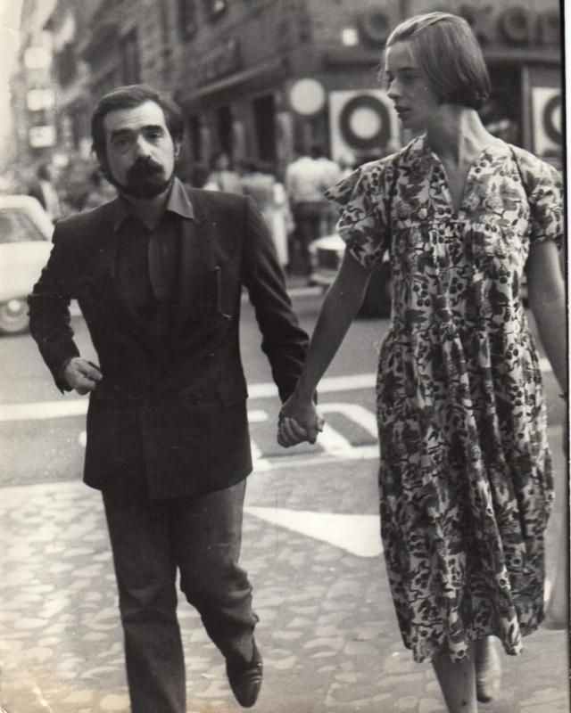 Martin Scorsese and Isabella Rossellini