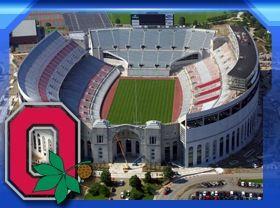 The Ohio State University Football Stadium...the Horseshoe...home of the BUCKEYES!!
