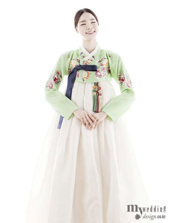 MYWEDDING 바이단 소녀의 미소처럼 달콤한 한복