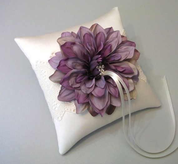ring bearer pillow...Love but maybe a little too girly for a little boy to hold?