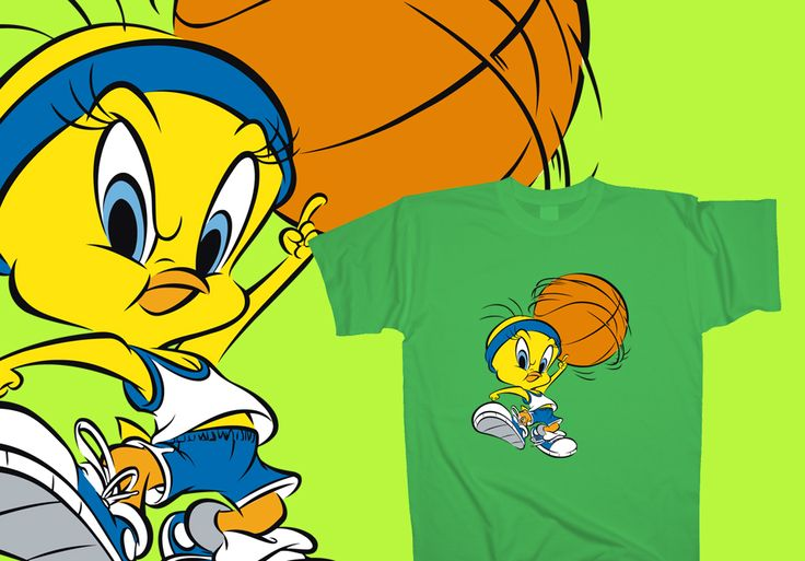 Air Tweety  http://www.toonshirts.com/products/looney-tunes/132-air-tweety
