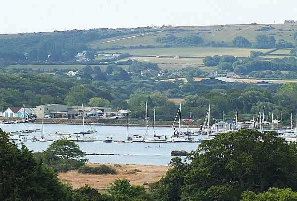 View from Park Resorts Nodes Point, Isle of Wight
