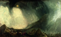 Joseph Mallord Turner Snow Storm: Hannibal and his Army Crossing the Alps, 1812
