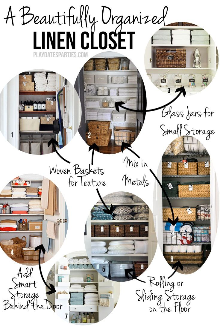 Find out key elements to creating functional and beautiful linen storage for your home, whether