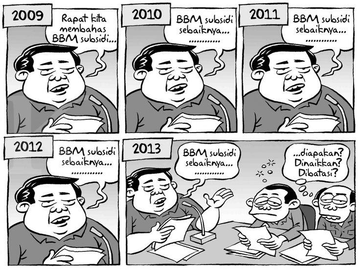 Kartun Benny, Kontan: Rapat BBM Subsidi...