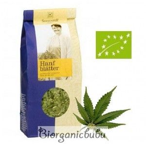 Ceai ecologic Frunze de canepa vrac, 40 g