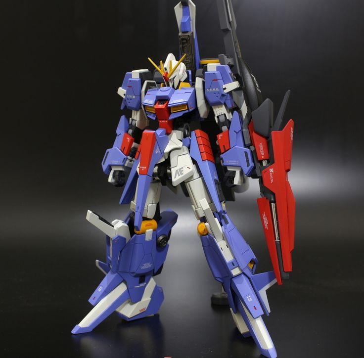 GUNDAM GUY: HG 1/144 Z II Kai - Customized Build