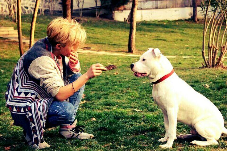 Love ,kayra, dogo argentino