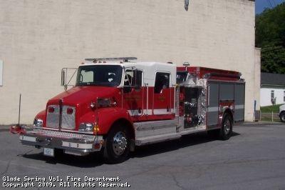 Glade Spring Volunteer Fire Department, Glade Spring, VA - Engine 130 - 2008 Kenworth T-300 Pierce Contender #virginia #fire #setcom #trucks #firetrucks #gladespring #bigrig http://setcomcorp.com/prac.html