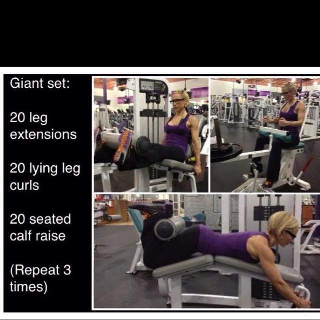 "Total Gym Big W: Jamie Eason ""leg Day"" Gym Workout Plan. I Wouldn't Just Do"