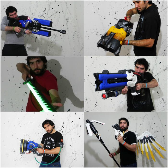 I love making weapons from games IRL - Overwatch edition