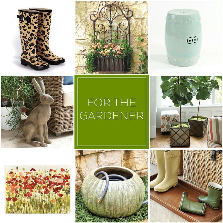 Browse these 8 gift ideas for the green thumb in your life!
