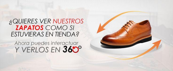 Zapatos para Hombre en 360° en www.maxdenegri.com, estilo, calidad, comodidad y +7cm. Para cada momento de tu vida existe Max Denegri.