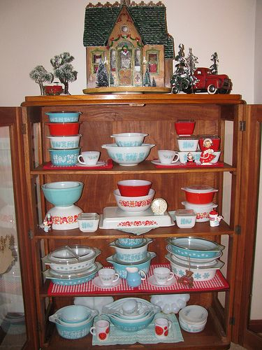 My Granny´s Cabinet At Christmas By Retro Mama69,