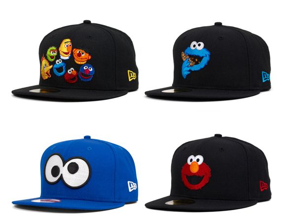 Sesame Street x New Era - Fall 2012 Cap Collection