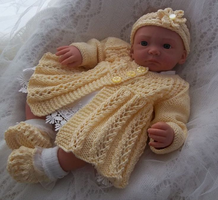 Knitted Baby Outfits  Tipeetoes Designer Baby Outfits Knitting Patterns Beanies Booties