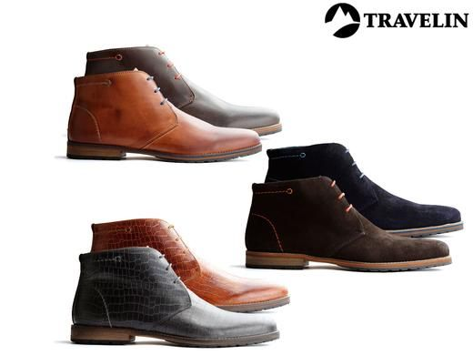 Dagaanbieding: Travelin casual herenschoenen