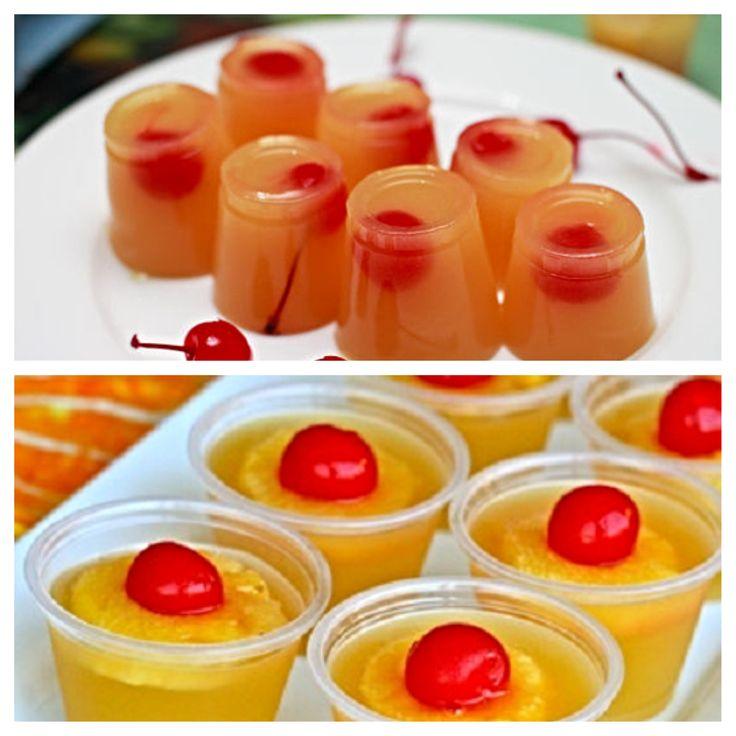 Pineapple upside down cake jello shot recipe
