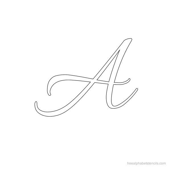 Printables Cursive A 1000 ideas about cursive alphabet on pinterest letters fonts and handwriting alphabet
