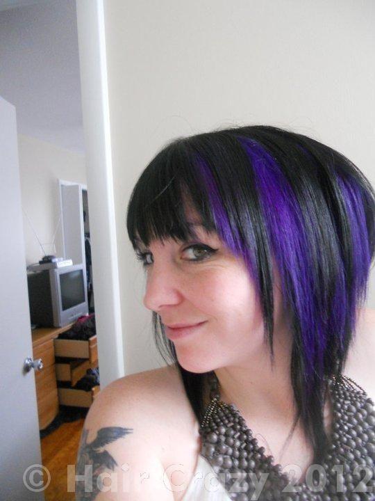 pravana violet purple hair color cool hair pinterest