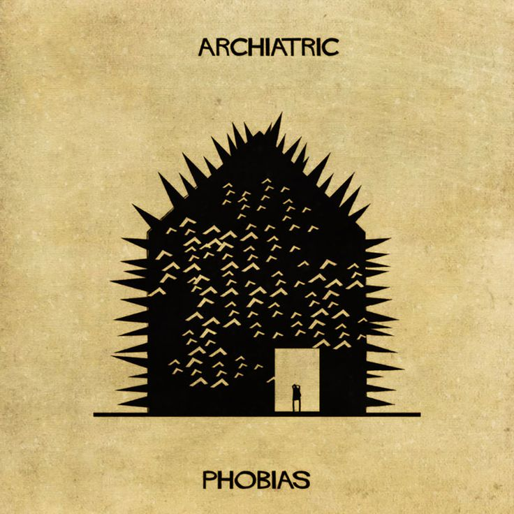 Archiatric illustrations by federico babina